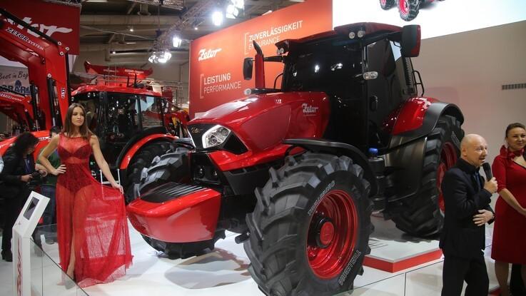Zetor vælger Agritechnica fra