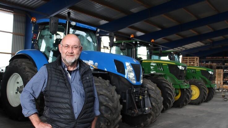 Det gamle traktorspor førte til nyt land