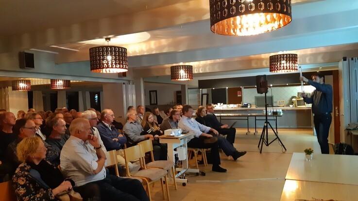 Gefion afslører miljøsynder i Karrebæk Fjord