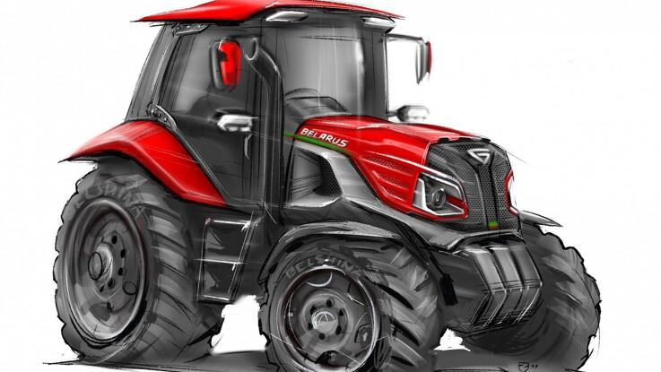 Ny traktorserie fra Belarus