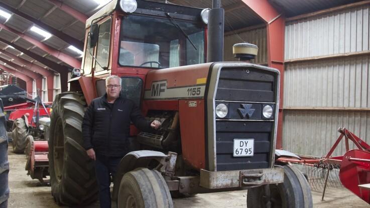 Laden rummer over 60 velkørende veterantraktorer