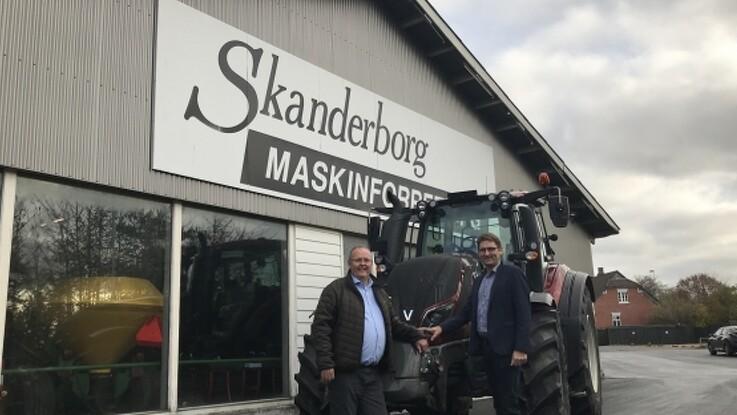 Skanderborg Maskinforretning sælger aktiviteten i Skanderborg til TBS