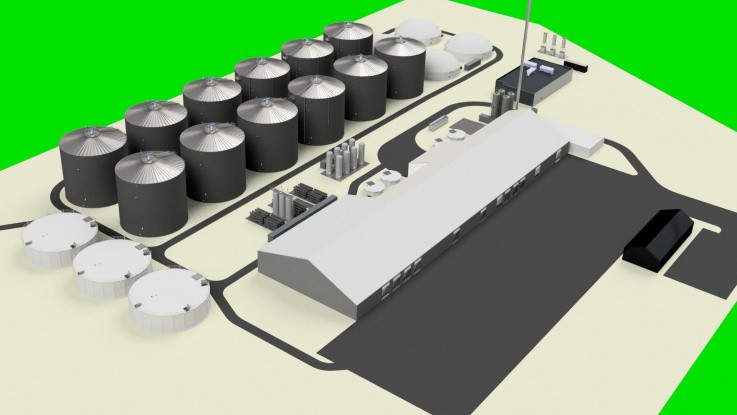 Nu bygges anlæg til 38 mio. kubikmeter gas