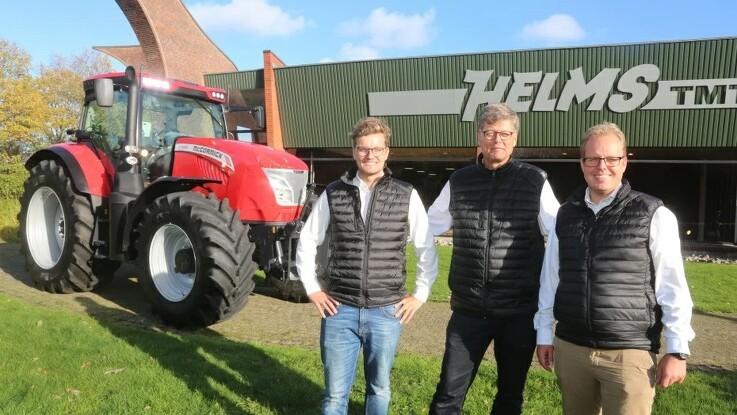 Svinenoteringen bestemmer traktorens pris