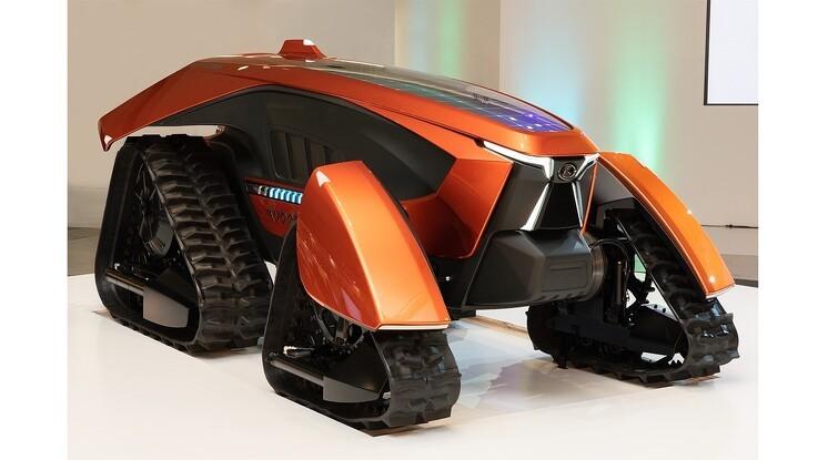 Kubota viser førerløse koncept-traktor