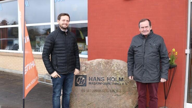 Fem generationer med Hans Holm