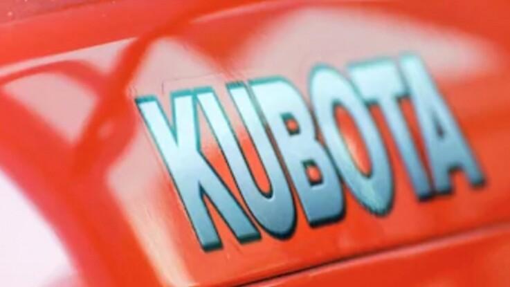 Kubota lancerer sekscylindret motor