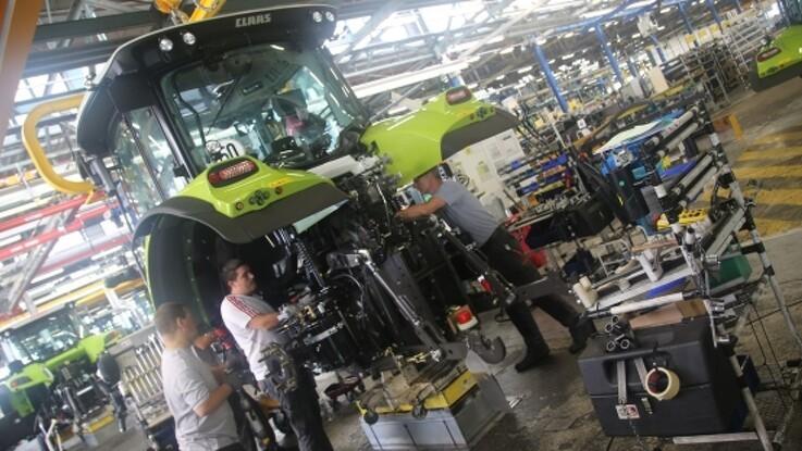 Franske maskinproducenter går på pause