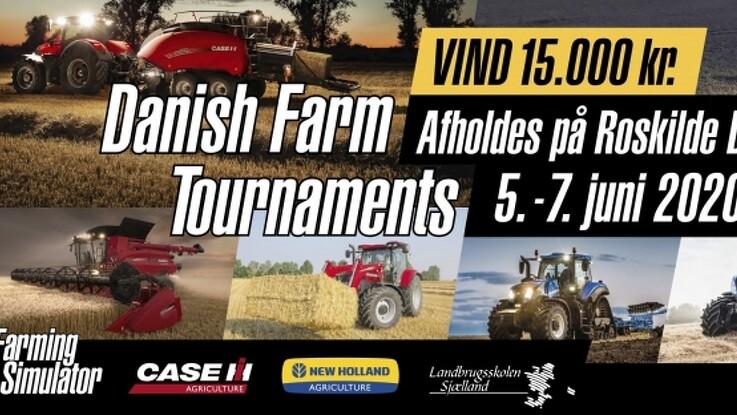 Danmarksmesterskaber i Farming Simulator på Roskilde Dyrskue