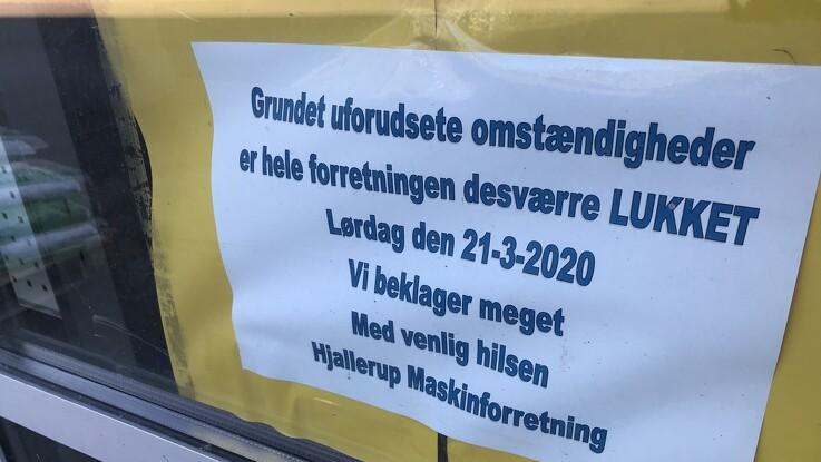 Seriøse køber-emner til Hjallerup Maskinforretning