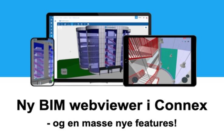 Nye BIM features i Connex Construction Cloud