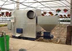 CN Stoker Varmluft Unit 140 KW Klar til levering