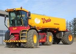 Vredo VT 3936 Vredo VT3936 med ZBV25000Zc tanktrailer
