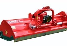 Concept Perugini MT260 Slagleklipper Bagmonteret m hydr Sideforskydning
