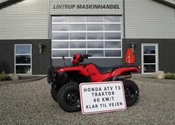 Honda TRX 520 FA traktor med nrplader p
