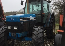 Ford New Holland 7840 SLE