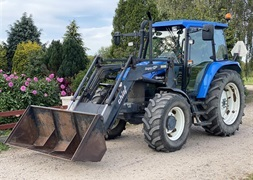 New Holland TS 100 Frontlsser