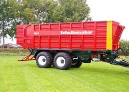 Schuitemaker Med hjultrk Siwa 720S   42m3