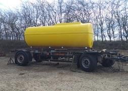Vandvogn p 10000 l