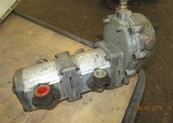 Olie pumpe for kraftoverfring
