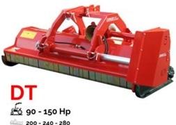 Concept Perugini DT240 Slagleklipper Front eller Bagmonteret m Hydr Sideforskydning