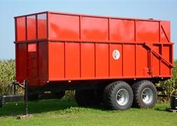 BS 20 tons tipvogn med grs sider