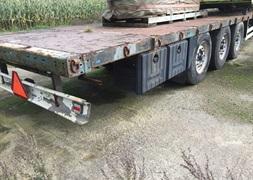 KelBerg Halmvogn Krone trailer 135m