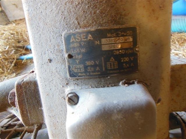 ASEA Vognblæser/ventilator 3hk