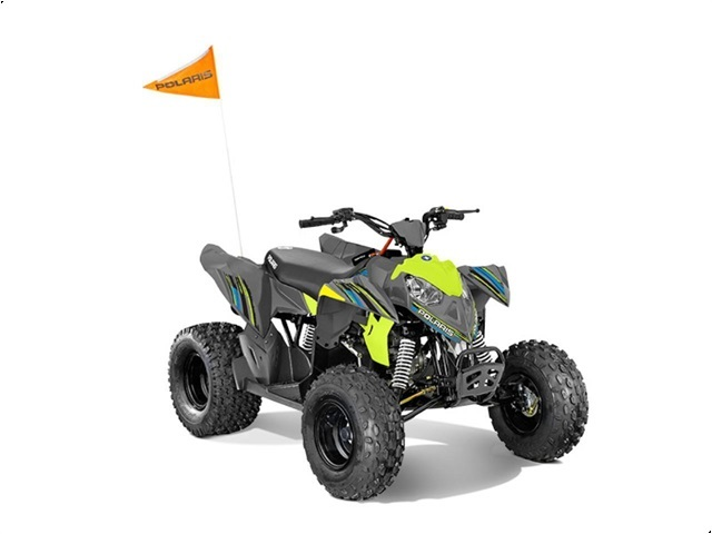 Polaris OUTLAW 110 GRÅ/LIME