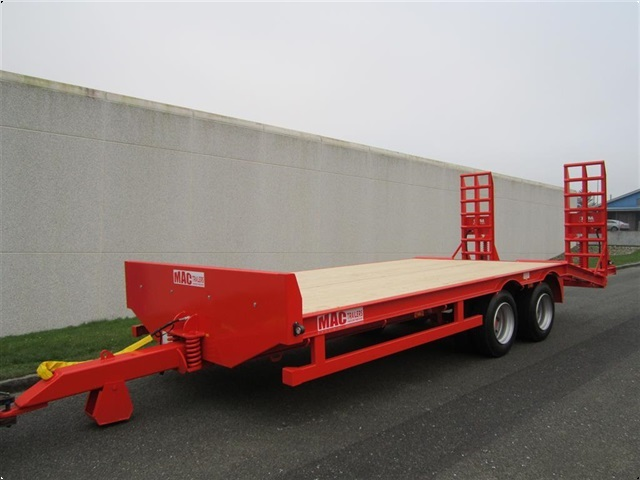 MAC 16 tons maskintrailer