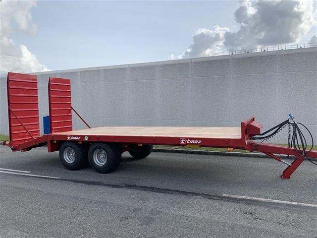 Tinaz 12 tons maskintrailer