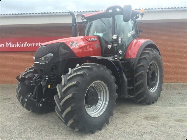 Case IH Optum 300CVX Demo