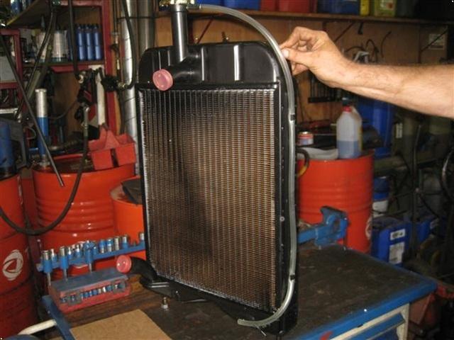 Massey Ferguson Køler for benzin traktor