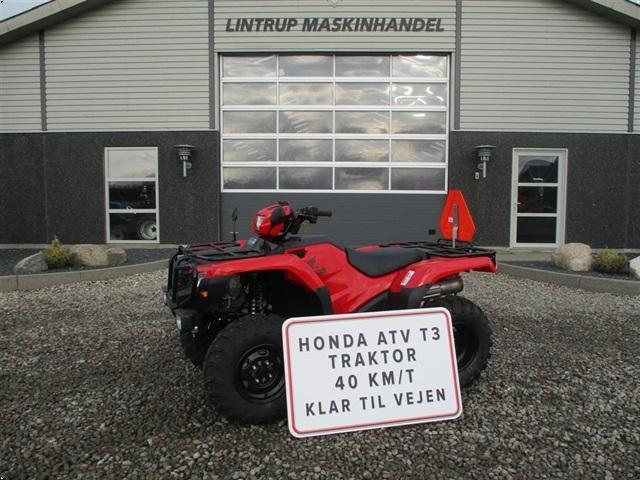 Honda TRX 500FE Traktor