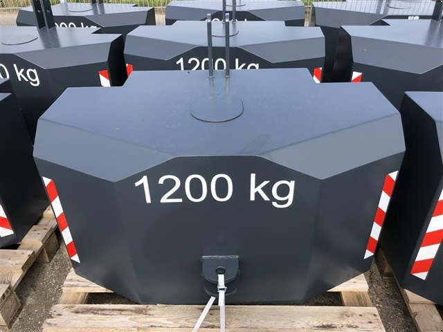 Fendt 1.200 kg vægtklods