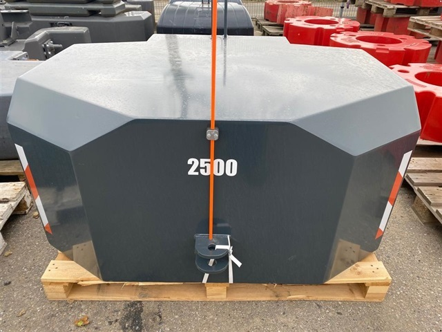 Fendt 2.500 kg. vægtklods