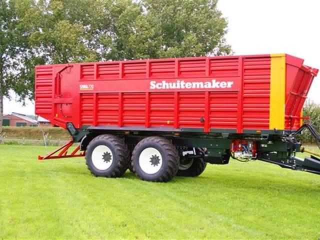 Schuitemaker Med hjultræk Siwa 720S   42m3