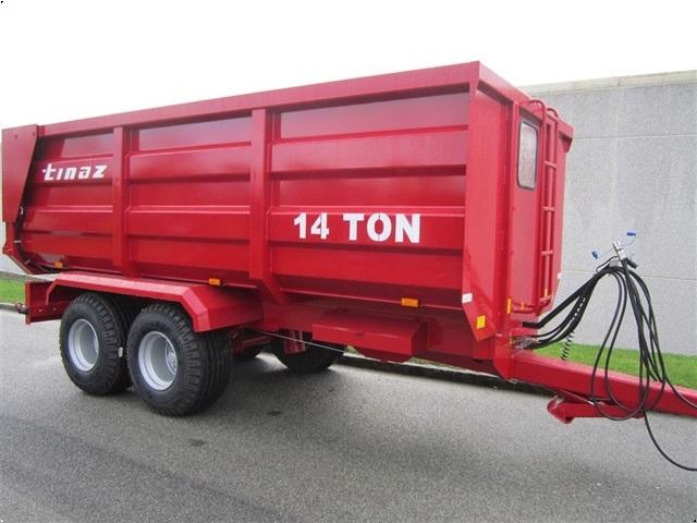 Tinaz 14 tons bagtipvogne
