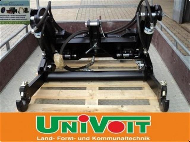 - - - Frontkraftheber in die Frontanbauplatte für Unimog U 403 / 406 / 416 / 417 / 424 / 425 / 427 / 435 / 437