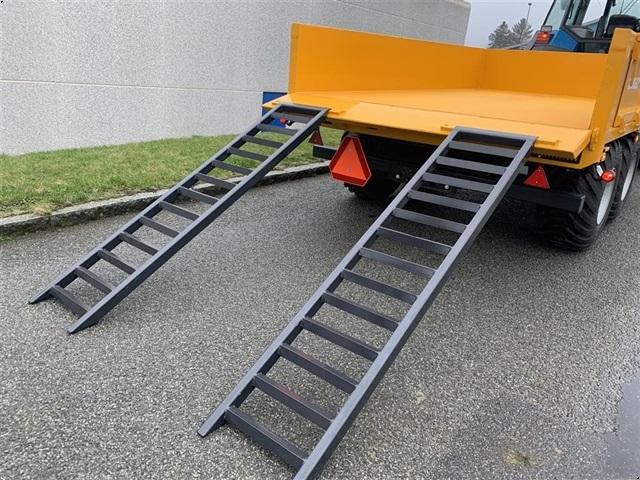Tinaz 10 tons dumpervogn med slidsker