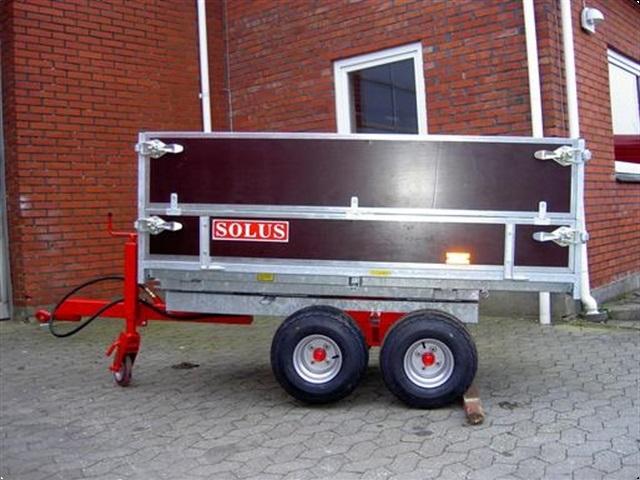 Solus SOLUS KIRKEGÅRDSTIPVOGN MED D