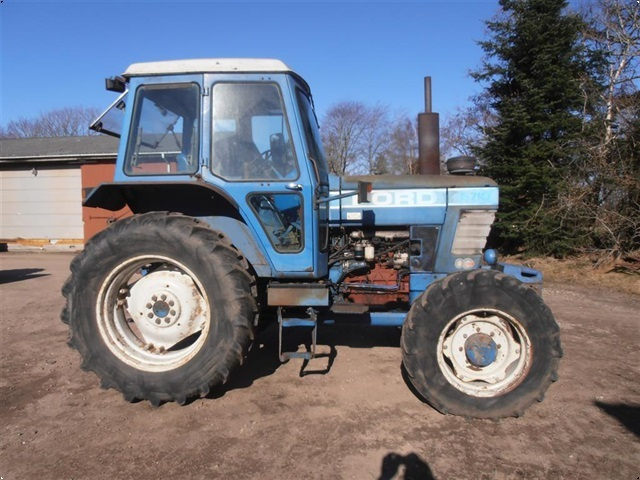 Ford 6710 4wd med Turbo