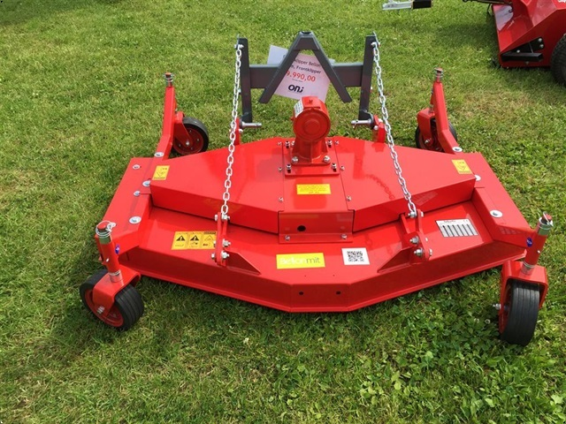 ONJ Rotorklipper bagmonteret 150 cm