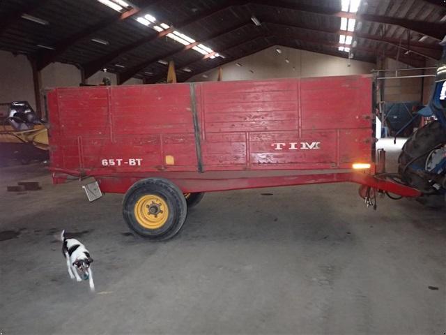 Tim 6,5 ton med bremser