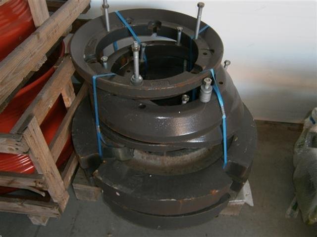 CLAAS 800 kg baghjulsvægte